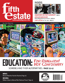 Fifth Estate, Winter 2013 Vol. 47, #3, #388