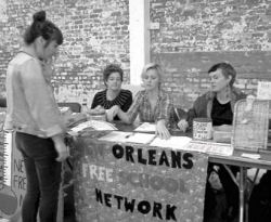 Registration at the New Orleans Free School.