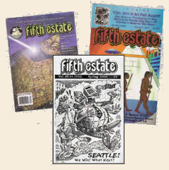 Image of past Fifth Estate covers