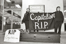 Dancing in Protest on the Grave of Capitalism