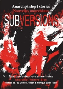Cover of Subversions, anarchist short stories