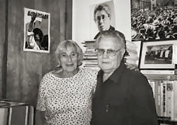 Audrey Goodfriend with Federico Arcos