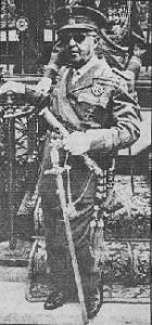 Photo of Francisco Franco in his 70s