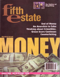 Issue 278, Fifth Estate Magazine