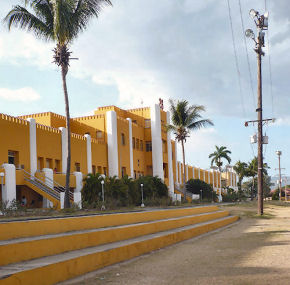 Cuba, the Moncada Barracks