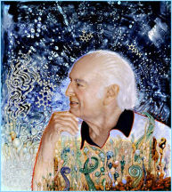 painting of Albert Hofmann by Robert Venosa