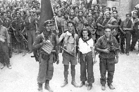Resistance fighters, Florence, Italy, August 1944