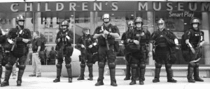Police at 2008 RNC Protests