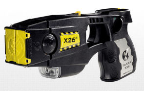 photo of X26 taser