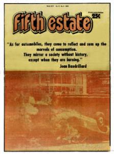 Cover, Issue 281 - Fifth Estate Magazine