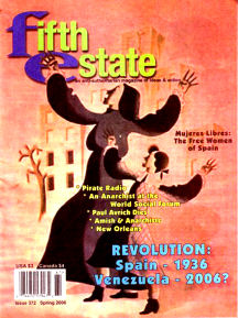 Cover - Issue 372 - Fifth Estate Magazine