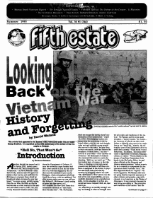 Cover - Issue 346 - Fifth Estate Magazine