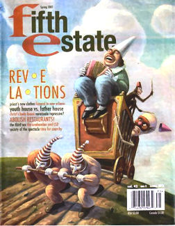Cover, Issue 375, Spring 2007 - Fifth Estate Magazine