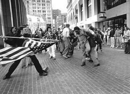 anti-busing racist rampage, Boston, 1976