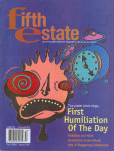 Cover image, Issue 370, Fall 2005 - Fifth Estate Magazine