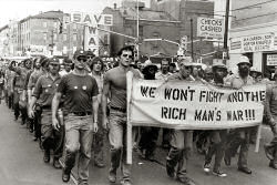 Anti-war Vietnam vets, 1970