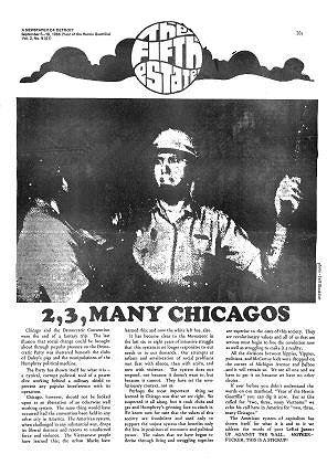 Cover image, Issue 61, Sept. 5-18, 1968 - Fifth Estate Magazine