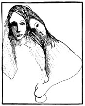 unattributed drawing, Love all ways