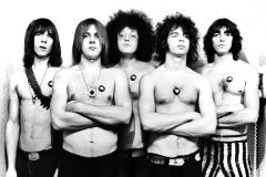 "The MC5 from promotion photo for their debut album, ""Kick Out the Jams."" (photo: Leni Sinclair)"