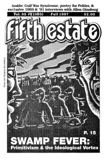 Cover, Issue 350, Fifth Estate Magazine