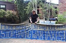 National War Tax Resistance Coordinating Committee continues to organize opposition to paying for war