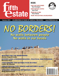 Cover image, issue 396, Fifth Estate Magazine