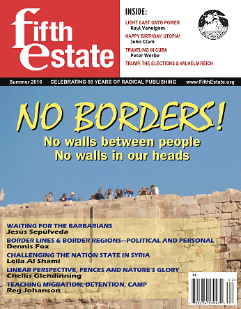 Latest issue, Fifth Estate magazine