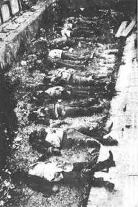 photo: Young anarchists assassinated by the Communists in Barcelona, May 1937