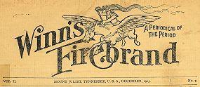 masthead, Winn's Firebrand