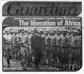 The Guardian vs. Language, proclaims The Liberation of Africa