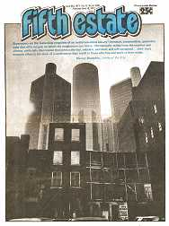 Cover image - Issue 282, April-May, 1977 - Fifth Estate Magazine