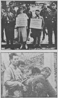 Images showing Nazi and Maoist official racism