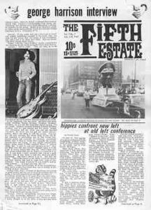 Cover image - Issue 33, July 15-31, 1967 - Fifth Estate Magazine