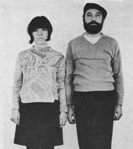 image, Dope smokers June Mumford and Vahan Kapegian, undercover Detroit police officers