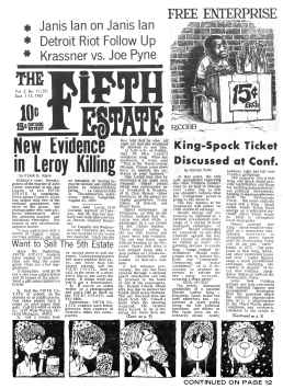 Cover, Issue 37, September 1-15, 1967
