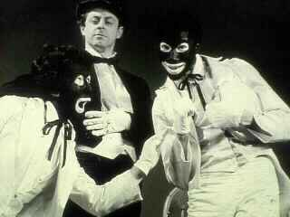"San Francisco Mime Troupe's first production, ""The Minstrel Show"""