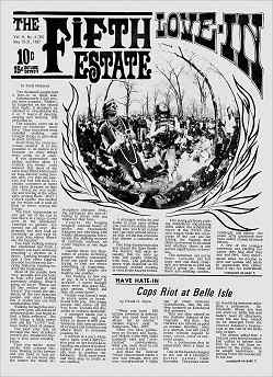 Cover, Issue 30, May 15-31, 1967 - Fifth Estate Magazine