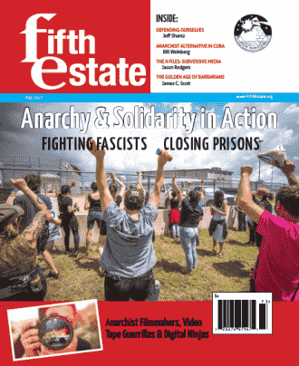Cover, Issue 399, Fall, 2017 - Fifth Estate Magazine