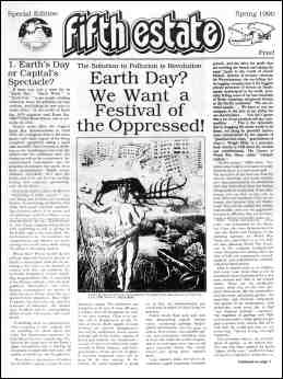 Cover image, Earth Day Special, 1990