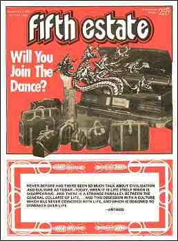 Cover image, Issue 295, November 3, 1978 - Fifth Estate Magazine
