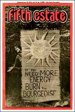 Cover image, Issue 298, June 19, 1979, Fifth Estate Magazine