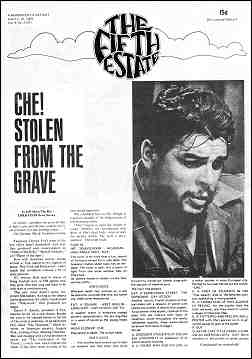 "Cover image, Issue 81, June 12-25, 1969. Photo of Omar Sharif in role of Che Guevara in the movie ""Che."""