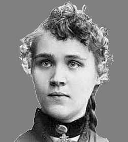 Photo of Voltairine de Cleyre as a young woman