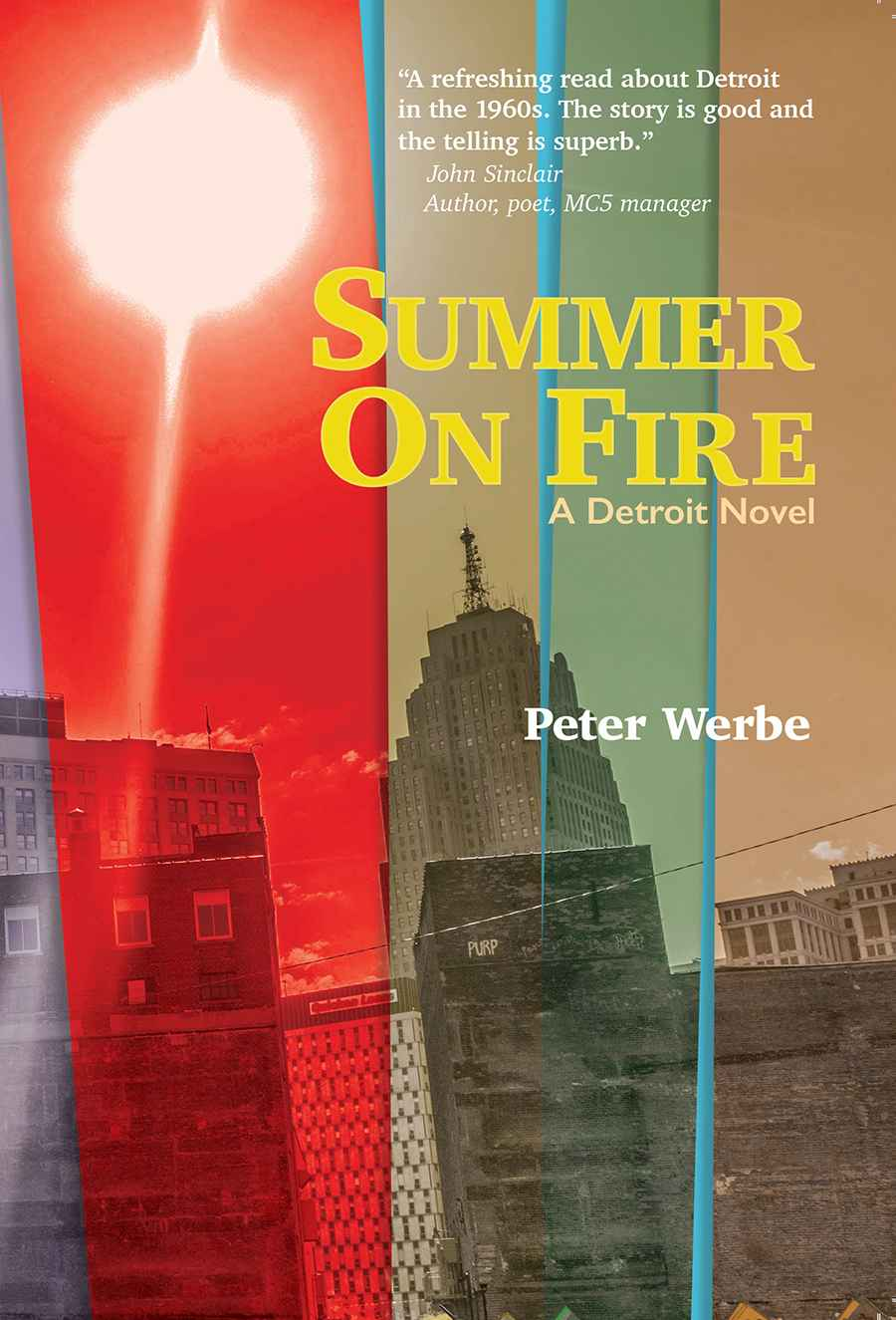 cover image Summer on Fire: a Detroit Novel