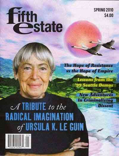 Cover image Issue 382, Spring, 2010, features painting of Ursula K. Le Guin