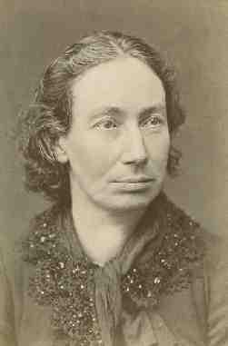 photo portrait of Louise Michel